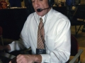 Benjamin Hupke in the Broadcast Booth